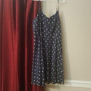 Polka Dot Swing Dress